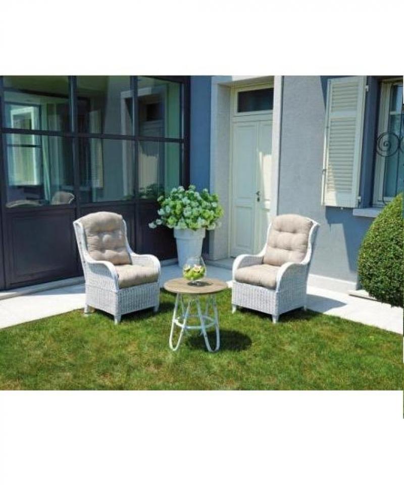 Poltrone da giardino set agra greenwood terrazzi for Poltrone giardino